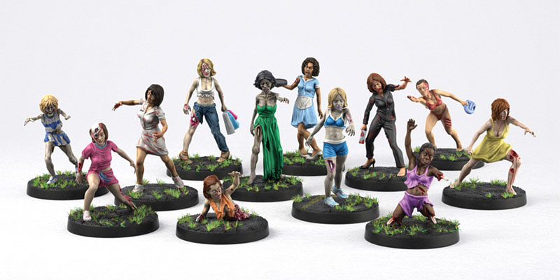 Painted Zombie Vixens