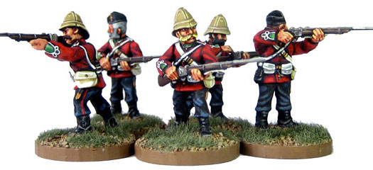 Zulu War Figures