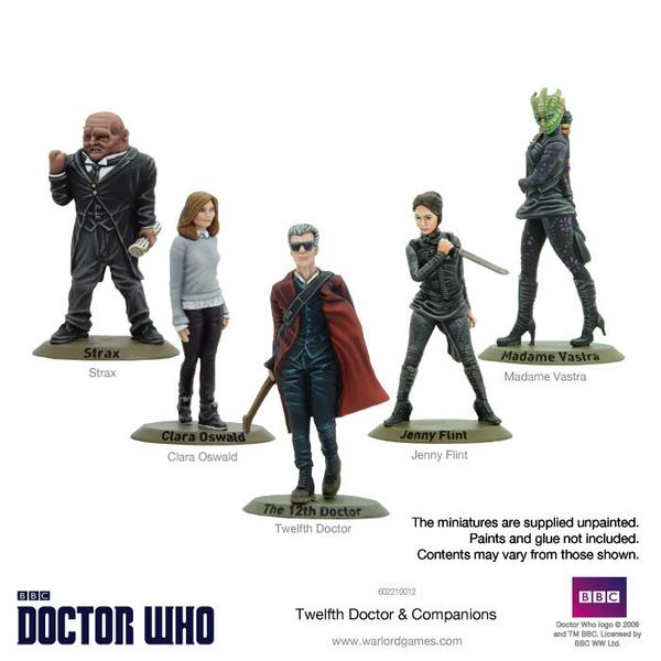 12th Doctor Set Painted