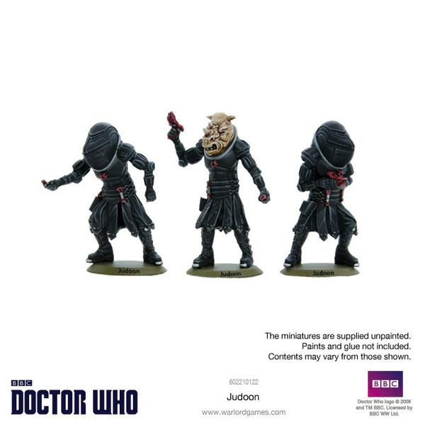 Judoon Painted