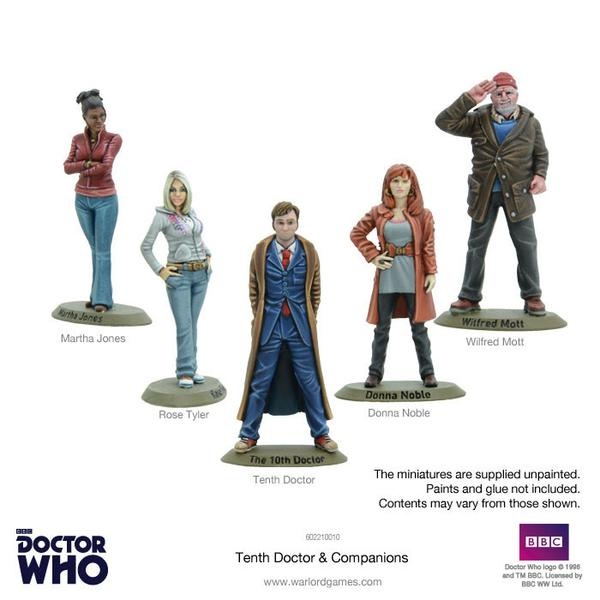 10th Doctor Set Painted