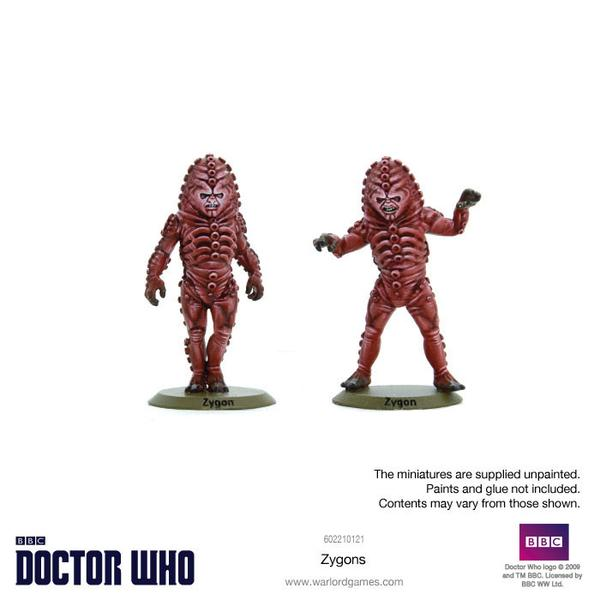 Zygons Painted