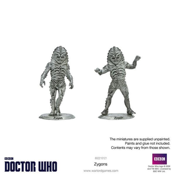 Zygons Unpainted
