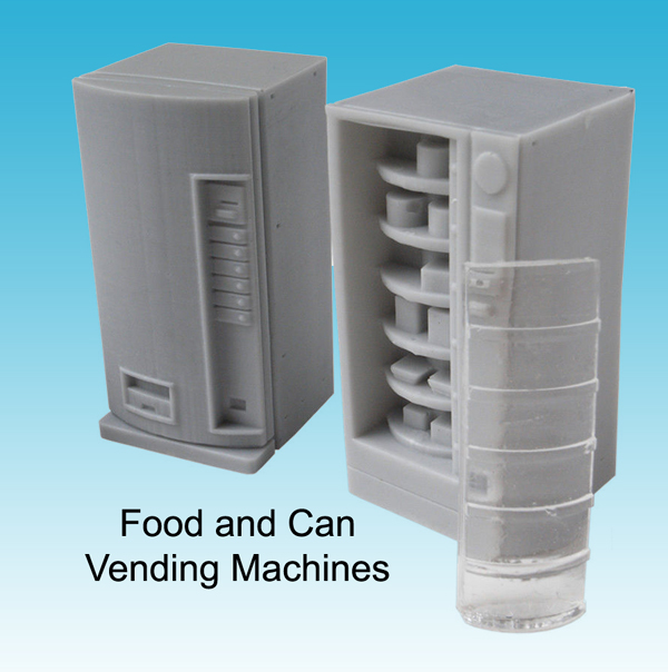Food and Can Vending Machines